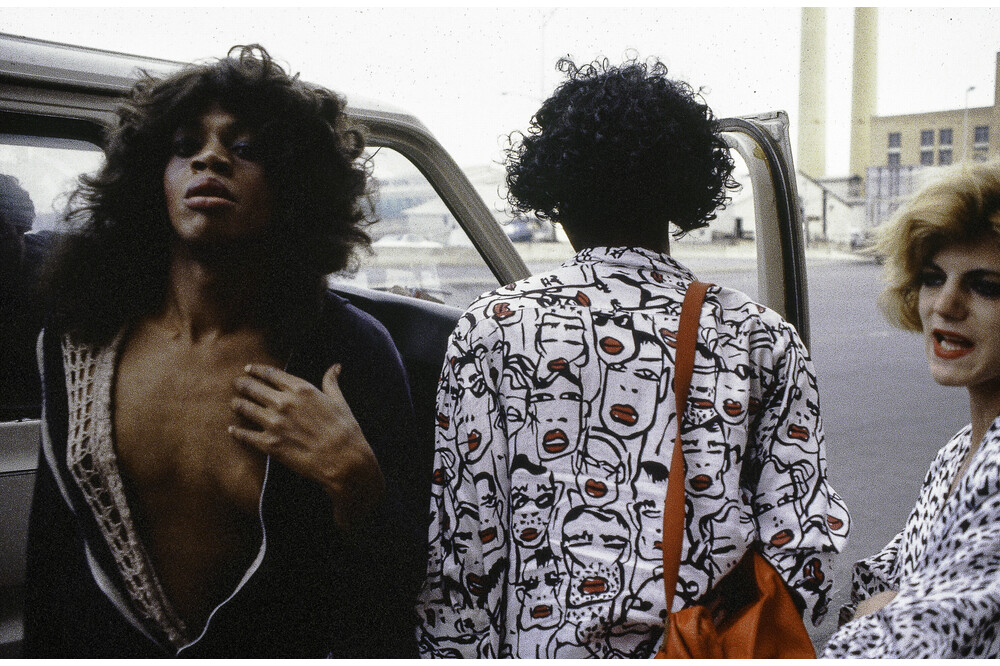 Transvestiten Im Meatmarket District New York 1986 Jürg Ramseier Fotograf Bern