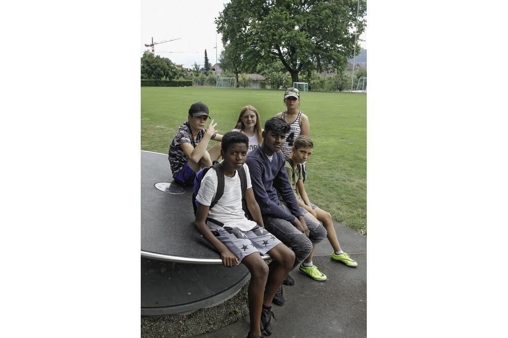 Muensingen Kids Gruppe Jürg Ramseier Fotograf Bern