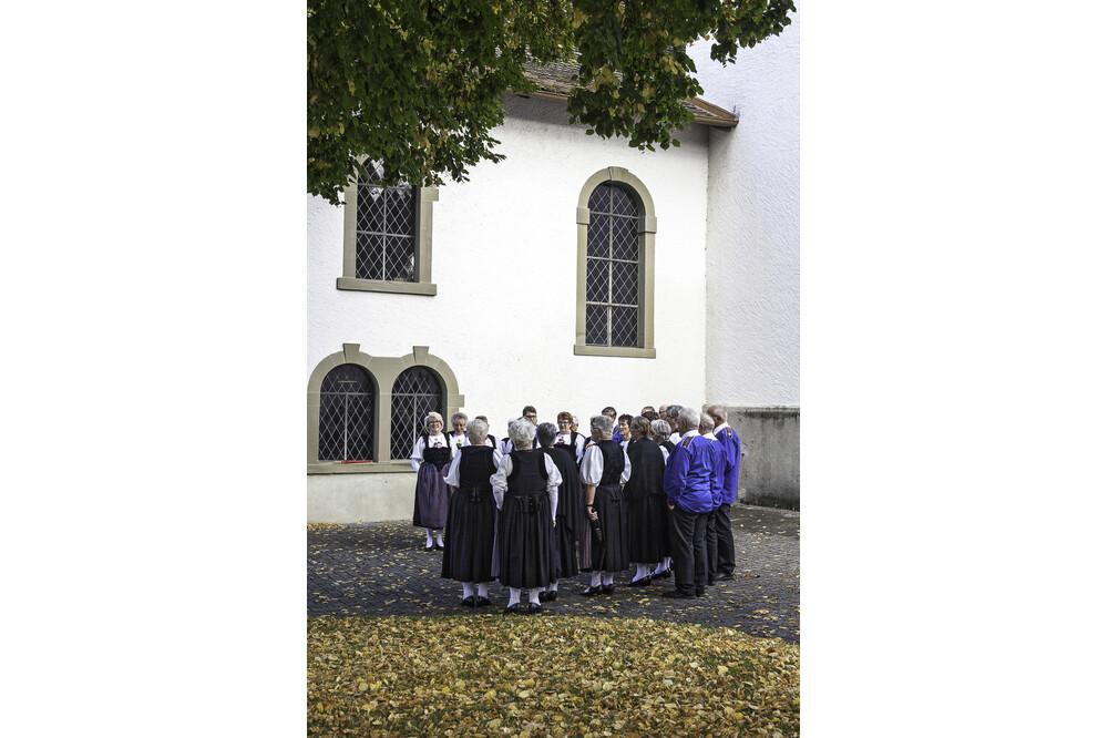 Muensingen Kirche Chro Jürg Ramseier Fotograf Bern