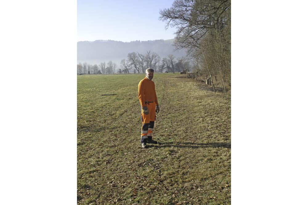 Muensingen Schwand Gemeindearbeiter Jürg Ramseier Fotograf Bern