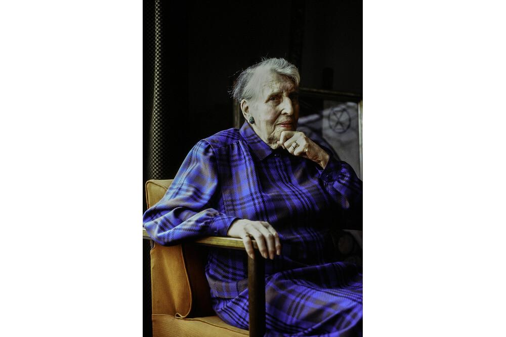 Portraet Olga Picabia 1 Jürg Ramseier Fotograf Bern